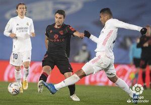 لالیگا  رئال مادرید در واپسین دقایق از شکست خانگی گریخت