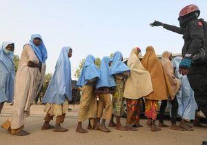 عکس/ آزادی ۲۷۹ دختر دانش آموز ربوده شده در نیجریه