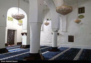 عکس/ مسجد تاریخی امام علی(ع) در محله قدیمی صنعا