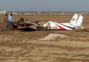 کشته شدن ۱۰ نفر در حادثه سقوط یک هواپیما در سودان جنوبی