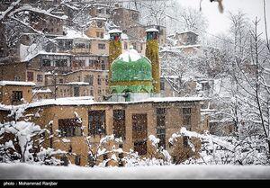 بارش برف و باران ۵ روزه در ۲۳ استان