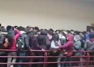 فیلم/ سقوط مرگبار از نردههای دانشگاه!