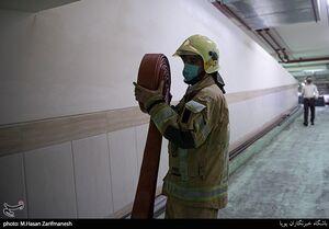 انفجار در خیابان سپهبد قرنی تهران