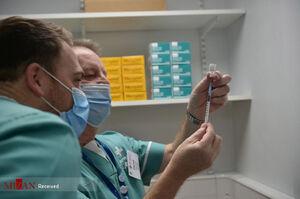 روند واکسیناسیون کرونا در اطراف ایران