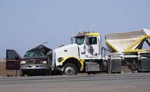 عکس/ سانحه مرگبار رانندگی در جنوب کالیفرنیا