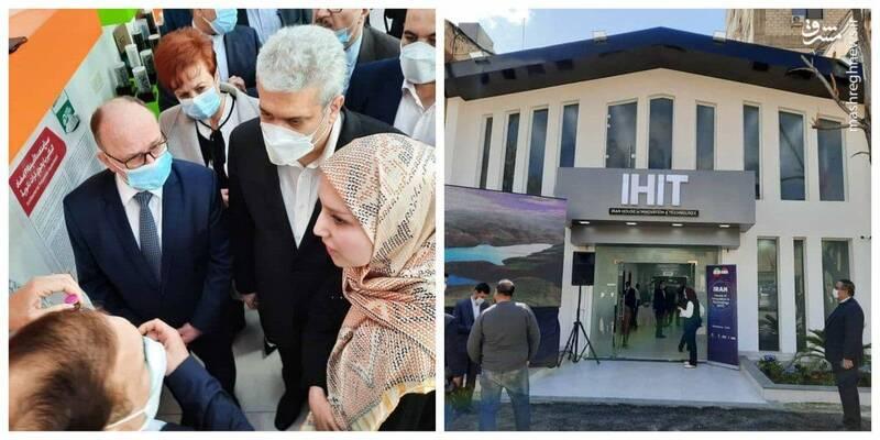 افتتاح خانه نوآوری و فناوری ایران در سوریه +عکس