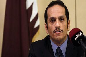 وزیر خارجه قطر بر حل سیاسی بحران سوریه تاکید کرد