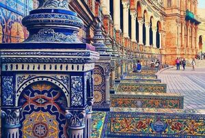 عکس/ معماری زیبای ایرانی در قلب اسپانیا