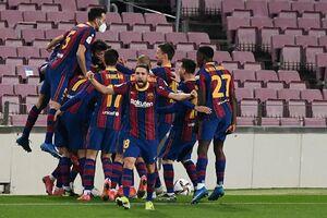بارسلونا با شکست سویا فینالیست شد