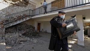 عکس/ خسارت زلزله ۶.۳ ریشتری در یونان