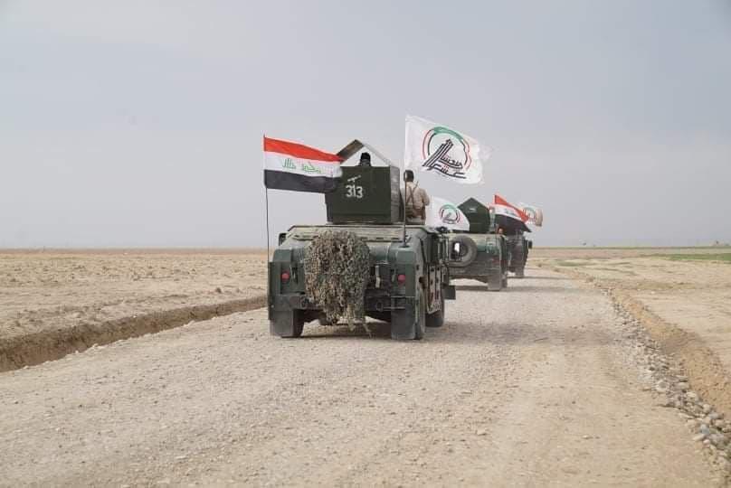 بازگشت امنیت و آرامش به ۲۴۰۰ کیلومتر مربع از مناطق آلوده عراق + نقشه میدانی و عکس