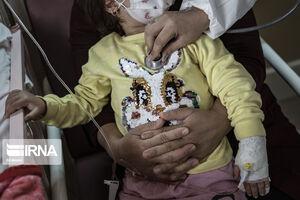 تصاویری دردناک از کودکان مبتلا به کرونا