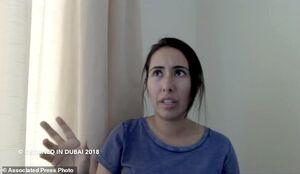 سازمان ملل: مدرکی دال بر زنده بودن دختر حاکم دبی دریافت نکردیم