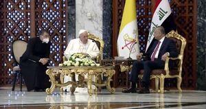 رهبر کاتولیکهای جهان: به عنوان زائر و حامل پیام صلح وارد عراق شدم