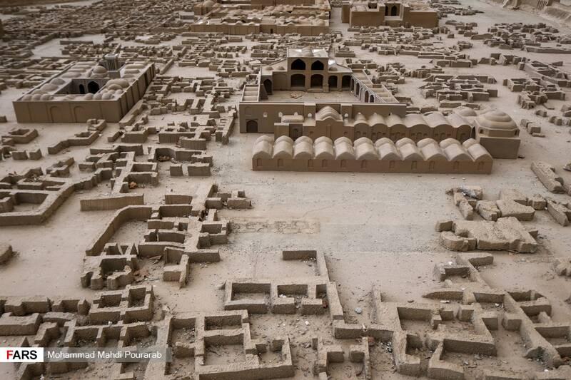 ماکت بافت تاریخی ارگ بم کرمان