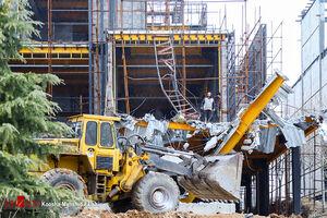 عکس/ آغاز تخریب ساختوسازهای غیرقانونی در کلاک