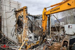 تخریب باغویلای منتسب به یکی از متولیان تهیه طرح منفصله توس+ فیلم