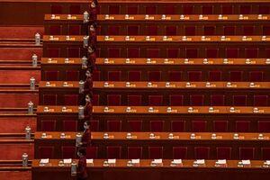 عکس/ آماده سازی چای برای جلسه کنگره ملی چین