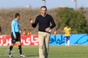 گلمحمدی: شرایط بد زمین نگذاشت بازی جذابی را ببینیم/ دروازهبان و دفاع تیم ما عملکرد خوبی داشتند
