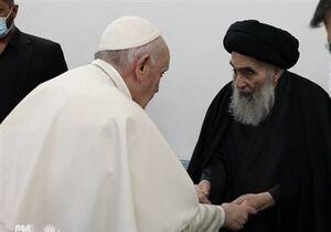 جزئیات اعلام نشده از دیدار پاپ و آیتالله سیستانی در نجف اشرف+فیلم