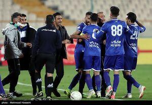 تصویر مدعیان قهرمانی لیگ برتر در جام افتاد
