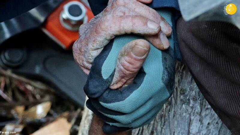 واژگونی تراکتور روی پیرمرد ۸۱ ساله +عکس