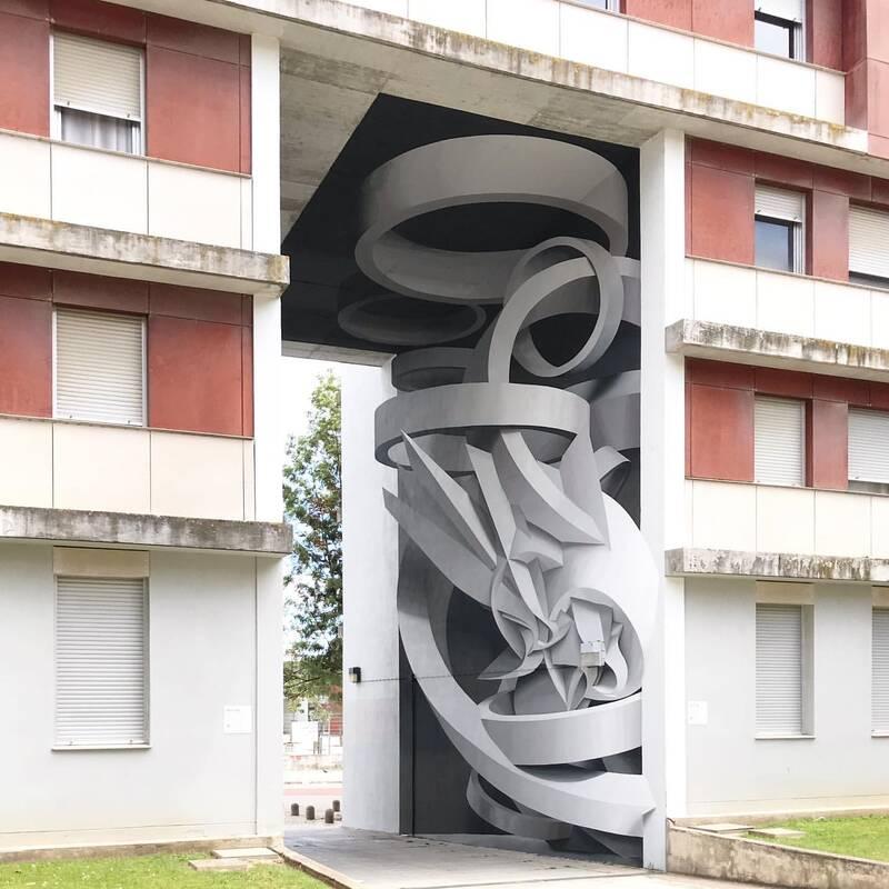 ادراک سهبُعدی در هنر شگفتانگیز گرافیتی+عکس