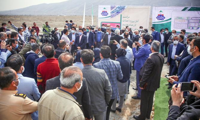 آغاز عملیات اجرایی کارخانه جدید روغن نباتی نرگس شیراز