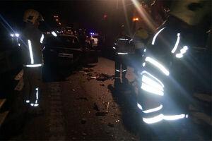 تصادف دو پراید در اتوبان تهران-قم با ۹ کشته و مصدوم