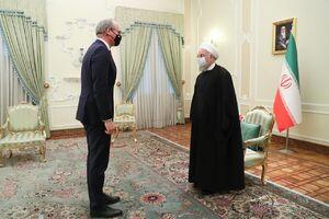 عکس/ دیدار وزیر خارجه ایرلند با روحانی