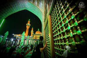 عکس/ حرم شریفین کاظمین سیاه پوش شد