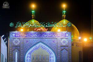 فیلم/ حالوهوای کاظمین در شب شهادت امام موسیکاظم (ع)