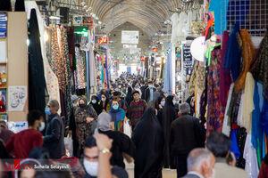 عکس/ خرید سال نو شیرازیها زیر سایه کرونا