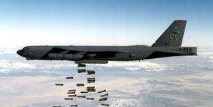 آمریکا و متحدانش روزانه ۴۶ بمب و موشک به کشورها پرتاب کردند