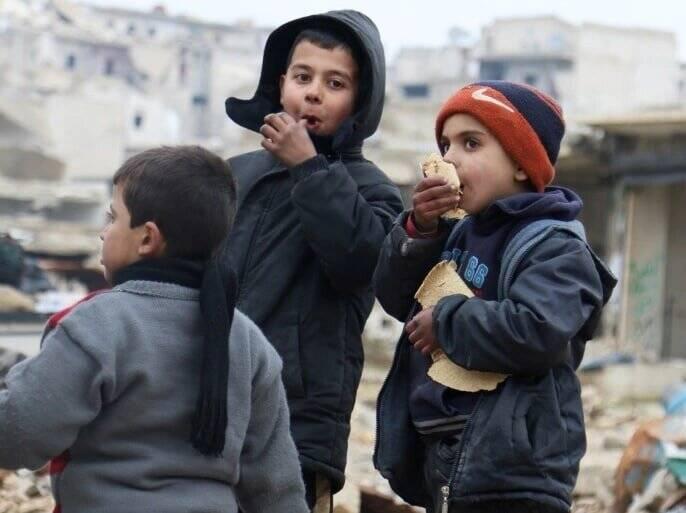 وضعیت نامطلوب امنیت غذایی در سوریه