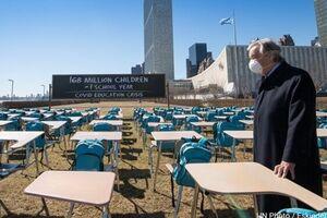 گوترش: با توجه به شیوع کرونا، بازگشایی «ایمن مدارس» باید مدنظر باشد - کراپشده