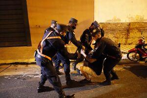 عکس/ اعتراض به محدودیتهای کرونایی در پاراگوئه