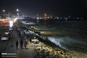 عکس/ شبهای زیبای ساحل بندرعباس