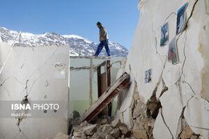 عکس/ سیسخت بعد از زلزله