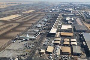 حمله موشکی به هدف نظامی مهم در فرودگاه ابها عربستان