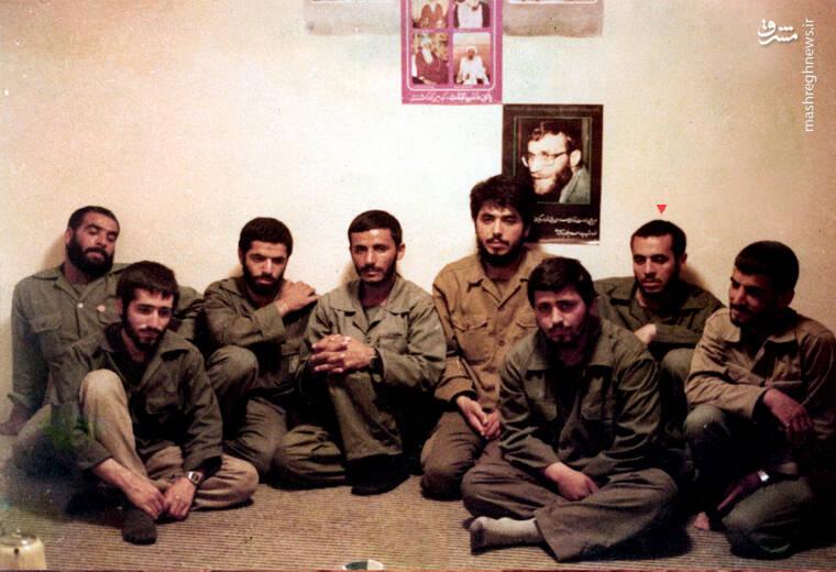 شهید «حاج محمدابراهیم همت» در کنار شهید ممقانی