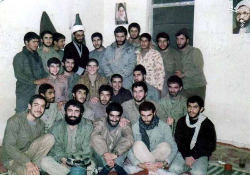 شهید «حاج محمدابراهیم همت» در کنار شهیدان کارور و سعید مهتدی