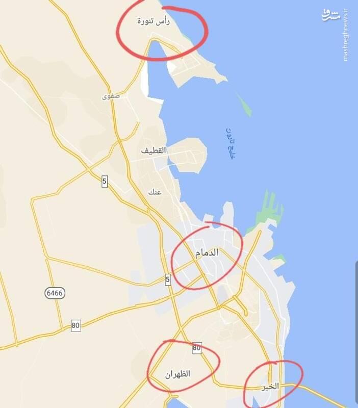 دوربردترین حمله موشکی تاریخ جنگ یمن به خاک سعودی / از پایانههای نفتی شمال تا پایگاههای هوایی جنوب/ شبی که تمام عربستان از ترس نخوابید +فیلم و تصاویر