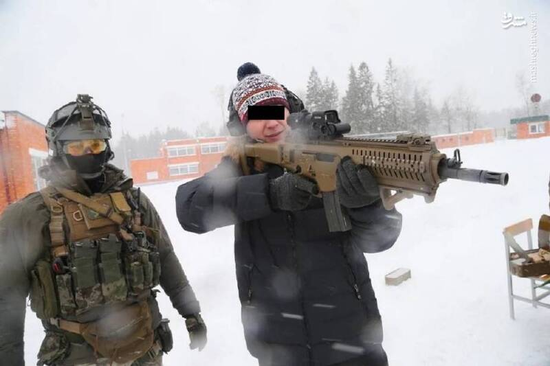 عکس/تفنگ ایتالیایی در اختیار ارتش روسیه
