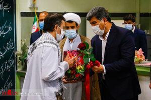 عکس/ آزادی ۱۳ زندانی از زندان رجایی شهر