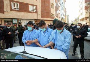 عکس/ دستگیری اراذل و اوباش محله فلاح