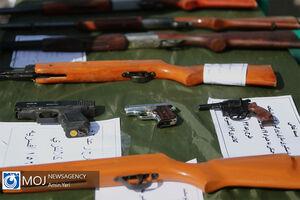 سلاح های کشف شده در طرح رعد