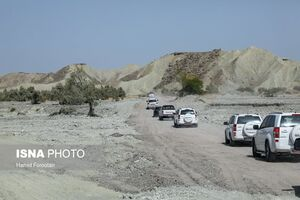 عکس/ کاروان آذری جهرمی در سفر به هرمزگان