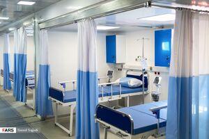 استقرار بیمارستان سیار مجهز در تهران