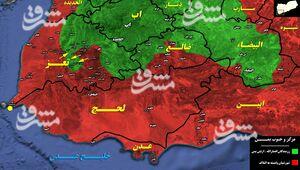 نقشه جدید ائتلاف برای فرار از شکست در مرکز یمن/ فعالشدن جبهه تعز برای متوقف کردن پیشروی رزمندگان در حومه مارب + نقشه میدانی و عکس